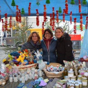 Weihnachtsmarkt am Forum