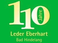 Logo - 110 Jahre Leder Eberhart Bad Hindelang