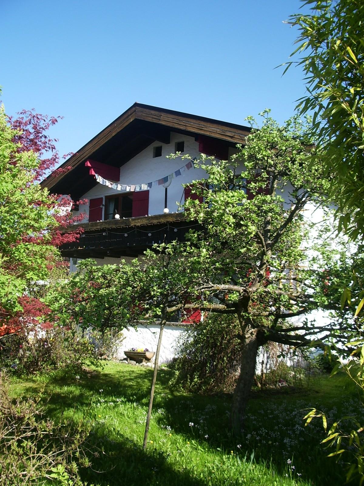 Unser Haus im Sommer - Südseite