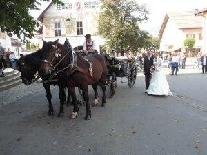 Hochzeit mit Landauer