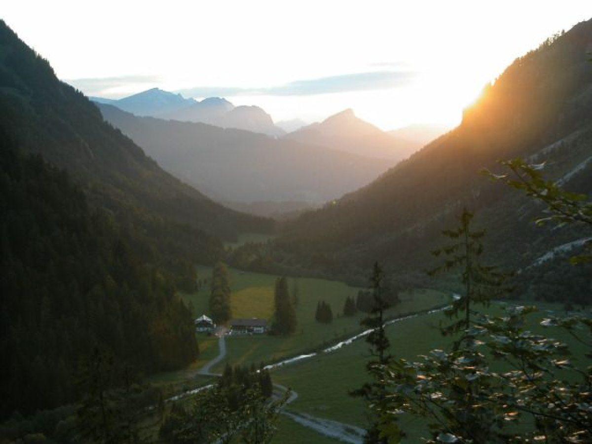 Bergkulisse im Oytal