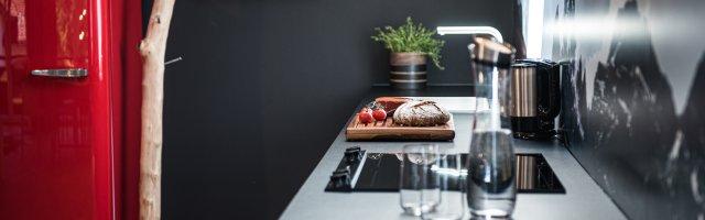 Küche Ferienwohnung Loretto Oberstdorf