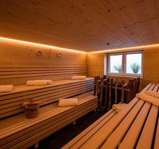 Große finnische Sauna