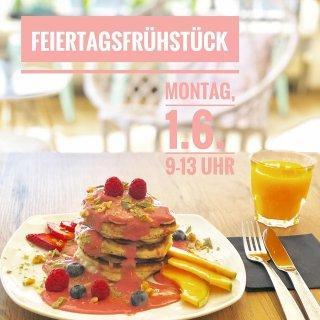 Frühstück Pfingstmontag