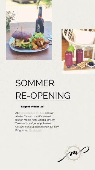 Sommer Re-Opening im Mandala