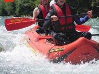 Rafting Klassiker auf der Iller