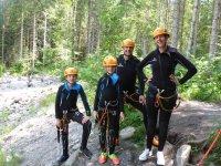 Canyoning EinsteigerTour ab 8 Jahren