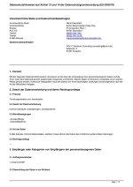 Hauptverwaltung Terminorganisation und -koordination