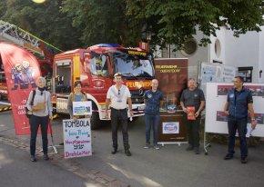 Aktionstag Feuerwehr, Weltladen und Steuerungsgruppe