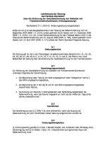 Lesefassung der Teilungssatzung vom 27.11.2019