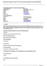 Bürgerauskunft (Fachdienst des Bürgerservice-Portals)