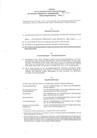 Satzung für die öffentliche Wasserversorgungsanlage (Wasserabgabesatzung)