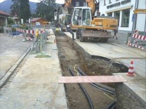 Wasserleitung und Marktwärme