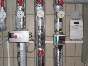 Pumpenanlage und Steuerung in der Heizung