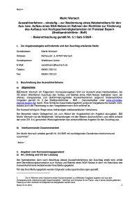 Wertach Auswahlverfahren einstufig 27 01 2015