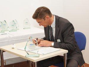 Unterzeichnung Energieconvent