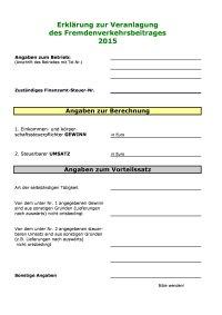 Formblatt FVB 2015