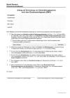Antrag auf Einrichtung einer Auskunfts- und Übermittlungssperre nach dem Bundesmeldegesetz (BMG)