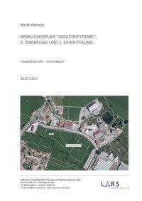 03 170720 Industriestraße3 Vorentwurf Umweltbericht