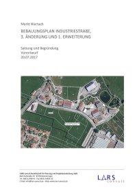 02 170720 Industriestraße3 Vorentwurf Satzung