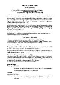 FNP Bekanntmachung Auslegung Entwurf §4 Abs. 2 u §3Abs. 2