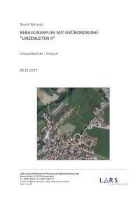 03 BP LinzenleitenII Umweltbericht Entwurf171109