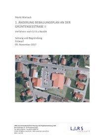 02 171109 BPGrüntenseestraße Satzung Entwurf
