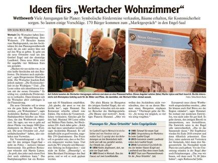 05.12. Planungswettbewerb - Ideen fürs -Wertacher Wohnzimmer-