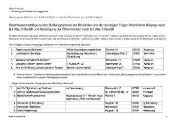 Abwägung-TöB2-FNP - Linzenleiten