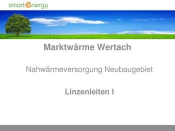 28.12.2017 Präsentation Herr Trunzer von der Fa. smart energy GmbH - Linzenleiten