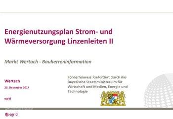 20171222 Energiekonzept Bauherrenveranstaltung Wertach gefördert durch Bayerische STMWI - Linzenleiten