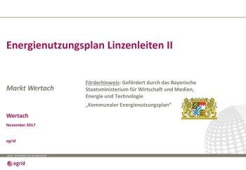 20171102 Vorstellung Gemeinderat gefördert durch Bayerische STMWI - Linzenleiten