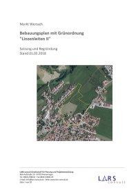 02 180201 BP LinzenleitenII SatzungBegründung