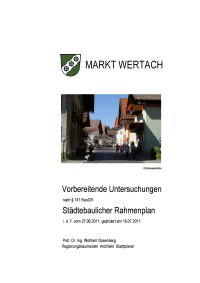 06 2012 Vorbereitende Untersuchungen Rahmenplan