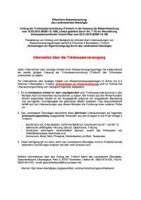Info TrinkwasserV. 4.7.18