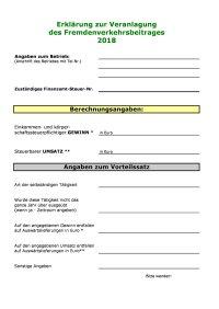 Formblatt FVB 2018