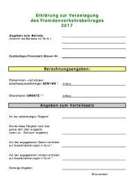 Formblatt FVB 2017