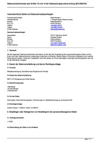 Meldebescheinigung (Fachdienst des Bürgerservice-Portals)