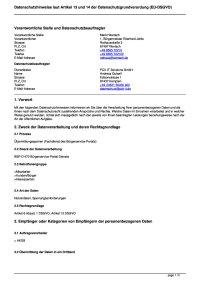 Übermittlungssperren (Fachdienst des Bürgerservice-Portals)