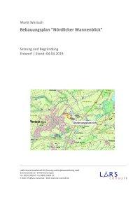 02 190404 BP Nördl Wannenblick Entwurf Textteil
