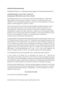 Amtliche Bekanntmachung 1. Änderung Linzenleiten