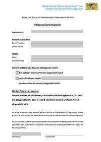 Erklärung Lizenzinhaber in