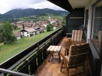 Balkon zum Ausruhen und Genießen
