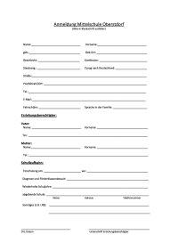 Anmeldung Mittelschule Oberstdorf