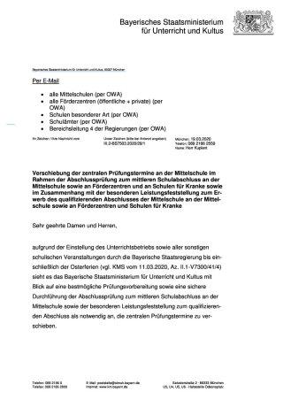 KMS-Verschiebung Prüfungstermine QA MSA r