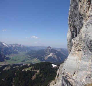Alpinklettern, Panorama, Berge, Sonne