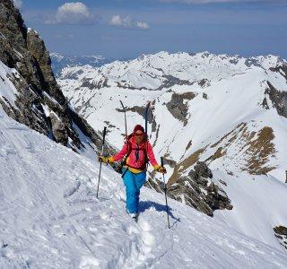 Skitour Allgäu Steilstufe Gr. Wilder