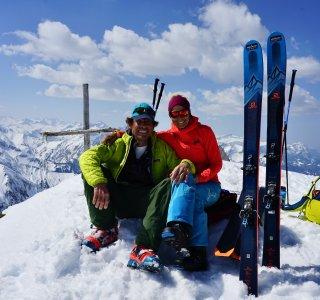 Skitour Allgäu Hauptgipfel Gr. Wilder