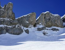 Skitour Allgäu Hoher Ifen Südwände