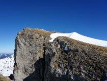 Skitour Allgäu Hoher Ifen Gipfel